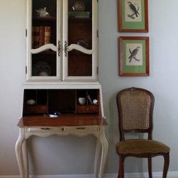 Vintage Drop Down Secretary Desk+ -