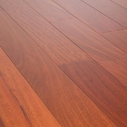 """Vanier - Vanier Engineered Hardwood - Cosmopolitan Collection - [36.6 sq ft/box] - Santos Mahogany / 3 1/2"""" / 9/16"""" / Random Length / Full and Partial Pallets -Vanier's Cosmopolitan line of engineered hardwood flooring offers a high-quality semi-gloss finish on a richly textured and warmly colored layer of real hardwood, strengthened by 7 coats of aluminum oxide finish. This excellent line of flooring features a micro-beveled edge design."""