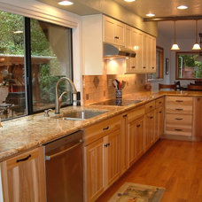 Traditional Kitchen Cabinets by F&C Custom Cabinets Inc
