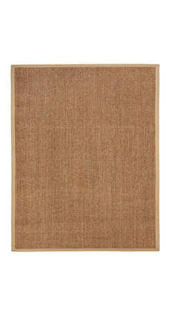 Anji Mountain - Kingfisher Sisal Rug - 4' x 6' - Sisal fiber is exceptionally strong and durable and is one of the most hard-wearing natural fibers. It does not absorb moisture easily and resists saltwater deterioration so it's an excellent option for seaside home decor. Sustainably harvested in Southern China where the hot, dry climate offers perfect growing conditions.