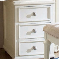 """American Drew 920-941 File/Drawer Cabinet Camden - Light - File/Drawer Cabinet - American Drew Camden - Light Collection 920-941 The triple drawered Drawer Cabinet by American Drew is a stout and compact choice. Having wheels embedded at the base this can be easily dragged from one place to another. All three drawers store your precious possessions secretively. The reliable fabric does not perish with dust or moisture. The bright and blanched hue rejuvenates everything around. Given that it is a light colored piece it needs some regular care. Shrunk yet attractive American Drew 920-941 is a laudable launch by American Drew.Features:The finish on this collection is a CREAM color. (NOT White)4 Casters2 DrawersFile Storage in Bottom DrawerThis Price Includes:File/Drawer CabinetItem:Weight:Dimensions:File/Drawer Cabinet64 lbs16"""" W X 22"""" D X 24"""" HManufacturer's Materials:Hardwood SolidsMaple Ash Veneers & Select Hardwoods"""