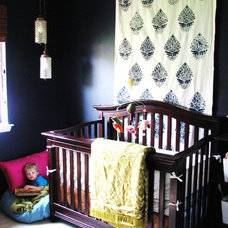 Eclectic Nursery by Lauren Liess Interiors