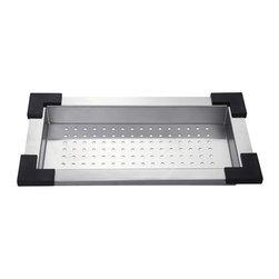 Kraus - Kraus CS-1 Stainless Steel Colander - Kraus Colander is an ideal addition to your kitchen sink