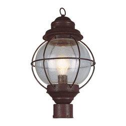 Trans Globe Lighting - Trans Globe Lighting 69902 RBZ Outdoor Post Light In Rustic Bronze - Part Number: 69902 RBZ