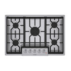 "Bosch 800 Series 30"" Gas Cooktop, Stainless Steel 