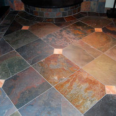 Eclectic Flooring by Architectural Justice