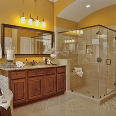 traditional bathroom by David Weekley Homes