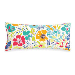 hot house summer pillow (15x35)