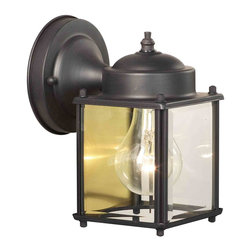 Thomas Lighting - Park Avenue Outdoor Wall Sconce - Thomas Lighting SL946963 Park Avenue Painted Bronze Outdoor Wall Sconce