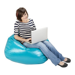 Ace Bayou - Ace Bayou Deep Aqua Matte Bean Bag - Deep Aqua Matte Bean Bag by Ace Bayou.