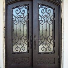 Mediterranean Front Doors by Iron Doors Now