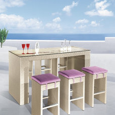 Modern Outdoor Pub And Bistro Sets by EXPO Furniture