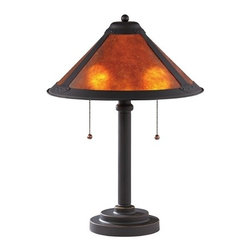 Design Classics Lighting - Mica Two-Light Table Lamp - JT-100A-78 - Traditional bolivian bronze 2-light table lamp. Takes (2) 40-watt incandescent A19 bulb(s). Bulb(s) sold separately. UL listed. Dry location rated.