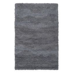 Surya - Topography Pewter Rug - Features: -Technique: Woven.-Origin: India.-Construction: Handmade.-Collection: Topography.-Distressed: No.-Collection: Topography.Specifications: -Material: 100% Wool.Dimensions: -Overall Product Weight: 6 lbs.