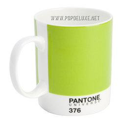 Pantone Universe™ Bone China Mug, Mushy Pea -
