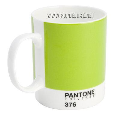 Pantone Universe™ Bone China Mug, Mushy Pea -