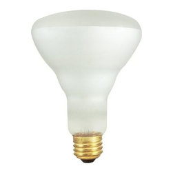 Bulbrite - Dimmable Indoor Reflector Bulbs - 12 Bulbs - One pack of 12 Bulbs. 120V E26 base BR30 incandescent bulb type. Brighter light. Ideal for indoor residential and commercial use in recessed and track lighting. Color temperature: 2700K. Wattage: 65 watt. Average hours: 2000. Lumens: 610. Center beam candle power: 257. Color rendering index: 100. Flood beam spread. Minimum overall length: 5.13 in.