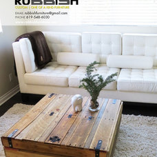 Asian Side Tables And End Tables by Rubbish Furniture