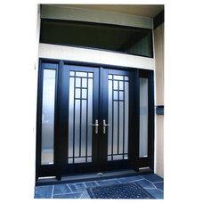 Asian Front Doors by Pella Windows & Doors
