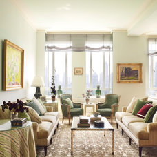Traditional Living Room by James Wagman Architect, LLC
