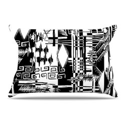 """Kess InHouse - Gabriela Fuente """"Tropical Buzz"""" Pillow Case, King (36"""" x 20"""") - This pillowcase, is just as bunny soft as the Kess InHouse duvet. It's made of microfiber velvety fleece. This machine washable fleece pillow case is the perfect accent to any duvet. Be your Bed's Curator."""