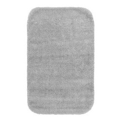 "Garland Rug - Bath Mat: Accent Rug: Traditional Platinum Gray 24"" x 40"" Bathroom - Shop for Flooring at The Home Depot. Traditional Bath Rugs will complement any bathroom decor. The basic plush design is a classic look. Traditional bath rugs are made with 100% Nylon for superior softness and quality. Proudly made in the USA."