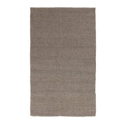 Surya - Surya Solo SLO-12 (Dark Taupe, Sand) 5' x 8' Rug - This Hand Loomed rug would make a great addition to any room in the house. The plush feel and durability of this rug will make it a must for your home. Free Shipping - Quick Delivery - Satisfaction Guaranteed