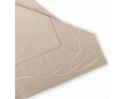 """Juliette Bed Linen Collection"" Euro Sham Linen Embroidered -"