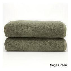 None - Authentic Plush Soft Twist Hotel and Spa Turkish Cotton Bath Towel (Set of 2) - These soft cotton bath towels will feel soft and clean when you dry off with them. They are made of Turkish cotton designed to absorb moisture more easily every time you wash them. You have a choice of several colors to complement any bathroom decor.
