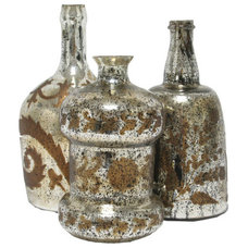 3 Piece Serene Bottle Décor Set - The Import Collection on Joss and Main