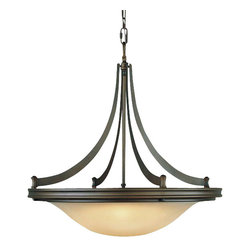 Murray Feiss - 4 Bulb Oil Rubbed Bronze Chandelier - - UL Approved.
