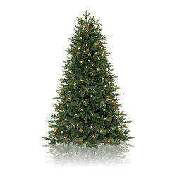 "Balsam Hill - 4' Balsam Hill Greenwich Estates Pine PreLit Artificial Christmas Tree - Our highly versatile Greenwich Estates� Pine pre-lit artificial Christmas tree can be placed anywhere around your home - staked to the lawn, presented as a potted tree, or set in a stand. This 4 foot pre-lit easy setup tree will sparkle and dazzle with its gorgeously glowing LED lights. Also included with this tree is a scratch-proof tree stand w/ rubber feet, soft cotton gloves for shaping the tree, ground stakes for staking the tree into the lawn as pathway trees, storage bags, and extra bulbs and fuses. As the best artificial Christmas tree manufacturer that is the #1 choice for set designers for TV shows such as ""Ellen"" and ""The Today Show"", in addition to being a recipient of the Good Housekeeping Seal of Approval, our trees are backed by a 10-year foliage warranty and a 3-year light warranty. Free shipping when you buy today!"