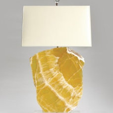 eclectic table lamps by Jan Showers