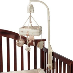 Summer Infant - Nature's Purest Sleepy Safari Musical Mobile - The Nature's Purest Sleepy Safari collection is made of the softest organically grown, naturally colored cotton jersey - nature in its simplest form.