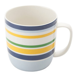Maxwell & Williams Mug - I love the classic look of nautical stripes, so this mug immediately caught my eye. I can just picture myself on the dock sipping my coffee from it.