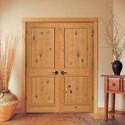 Wood Doors - Knotty Alder Doors by Homestory Doors