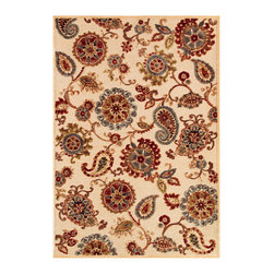 """Couristan - Cire` Marlow Rug 1386/6262 - 2'1"""" x 3'7"""" - True works of art for your floor, these area rugs are designed to adorn traditional stylings, as well as contemporary. Use a secondary color found in the palette of the area rug as inspiration for wall paint and add throw pillows with similar textures, to add a designer flair."""