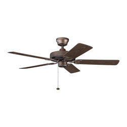 "Kichler Lighting - Kichler Lighting 339520WCP Sterling Manor Patio 52"" Indoor/Outdoor Transitional - Kichler Lighting 339520WCP Sterling Manor Patio 52"" Indoor/Outdoor Transitional Ceiling Fan"