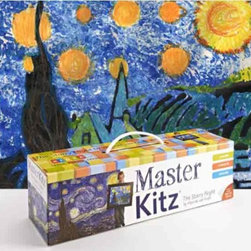 Master Kitz, The Starry Night - Matisse, Van Gogh, Monet — there are plenty of these Master Kitz to choose from, and I'm sure the finished product will be just like the real thing hanging on your wall. Make sure to buy a gilded frame.
