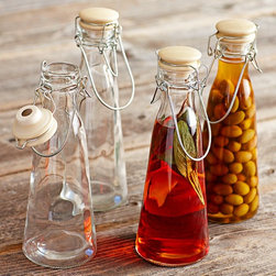 Glass Preserving Jars - I absolutely love these retro-looking canning jars. They're perfect for making your own infused oils and vinegars and look perfectly poised in the pantry or on the table.