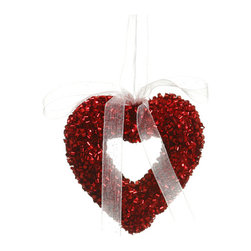 Silk Plants Direct - Silk Plants Direct Glitter Open Heart Ornament (Pack of 12) - Pack of 12. Silk Plants Direct specializes in manufacturing, design and supply of the most life-like, premium quality artificial plants, trees, flowers, arrangements, topiaries and containers for home, office and commercial use. Our Glitter Open Heart Ornament includes the following: