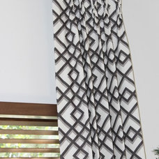 Modern Curtain Rods by Finishing Touches Interior Design