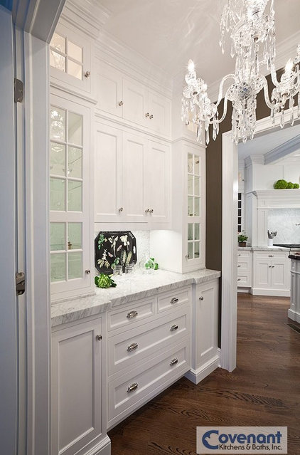 Transitional Kitchen by COVENANT KITCHENS & BATHS INC