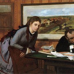 Sulking, c.1870 | Edgar Degas | Canvas Prints - Condition: Unframed Canvas Print