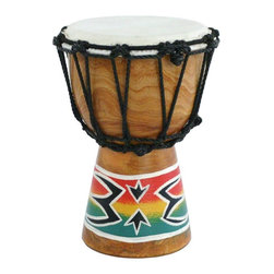 X8 Drums - X8 Drums Spark Painting Mini Djembe Drum - X8-DJ-MINI-SPK - Shop for Toy Instruments from Hayneedle.com! The X8 Drums Spark Painting Mini Djembe Drum is a smaller version of a djembe drum that is perfect for a child learning some rhythm. This one comes with a hand-painted spark design. About X8 DrumsX8 Drums truly walks to the beat of their own drum. This family-owned company is committed to providing the best selection of high-quality musical instruments with an emphasis on world music percussion instruments. X8 Drums has certainly helped champion ethnic hand drums in the digital age thanks to its founders - a New York City rocker and an internet sage.