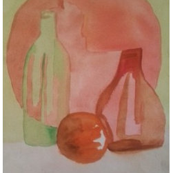 """Still Life Deux By Cynthia Jackson"" (Original) By Cynthia Jackson - Water Color Painting"