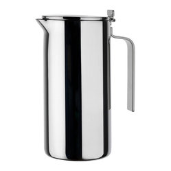 Alessi - Alessi 'Adagio' Double Wall Thermo-Insulated Jug - You take care to brew the very best. So naturally, you'd want this stainless steel insulating carafe to maintain the ideal temperature — and look great doing it.