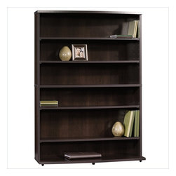 Sauder - Sauder Beginnings Multimedia Storage Tower in Cinnamon Cherry Finish - Sauder - Bookcases - 413034 -