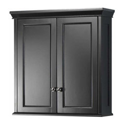 Foremost - Foremost Haven Wall Cabinet in Espresso Finish - Foremost Haven Wall Cabinet in Espresso Finish