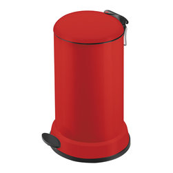 Hailo - Hailo Bill 16-liter Waste Bin - Every kitchen needs a waste bin,so it might as well be a very stylish and contemporary version. Keep your kitchen waste out of sight and out of mind with this truly sleek container that features a removable inner bin.